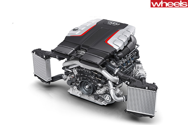 Audi -SQ7-Engine