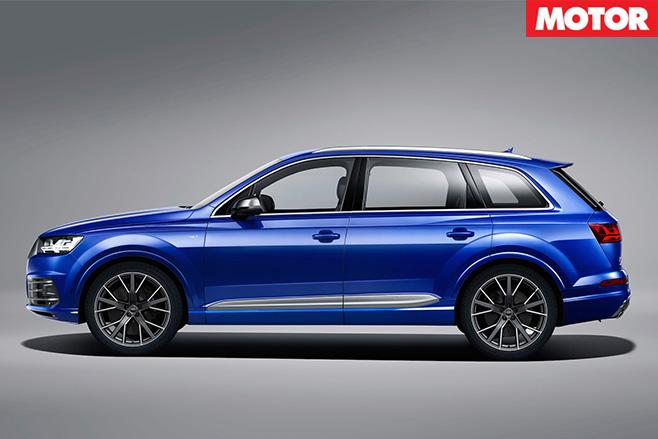 Audi SQ7 side