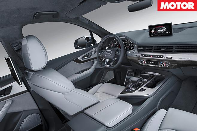 Audi SQ7 interior