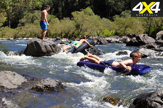 Having fun on the Nymboida river