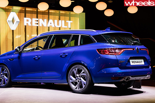 2016 geneva motor show renault megane estate revealed. Black Bedroom Furniture Sets. Home Design Ideas