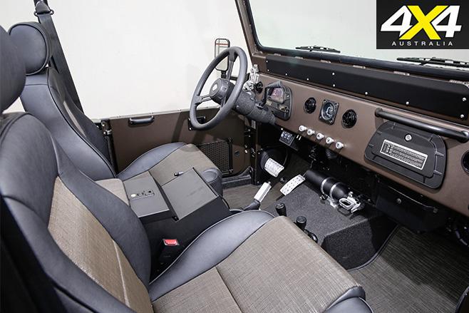 ICON FJ44 Land Cruiser interior