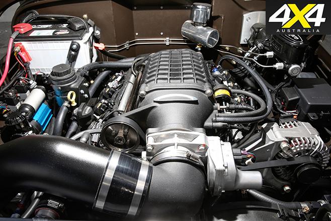 ICON FJ44 Land Cruiser engine