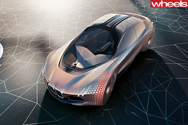 BMW-Next 100-Concept -front -top