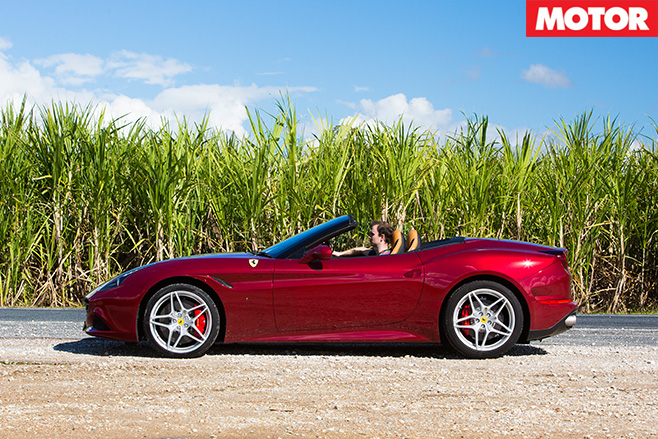 Ferrari -driving -t -side