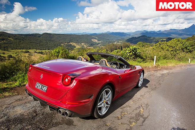 Ferrari -california -t -parked -on -hill