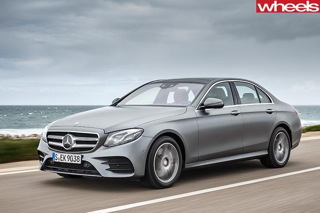 Mercedes -E-Class -front -driving