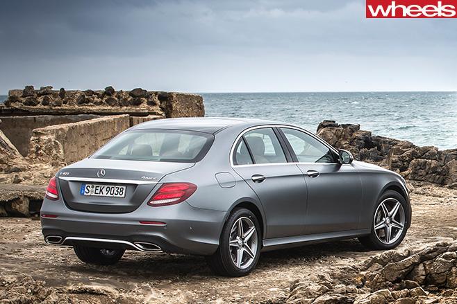 Mercedes -E-Class -rear -side -water