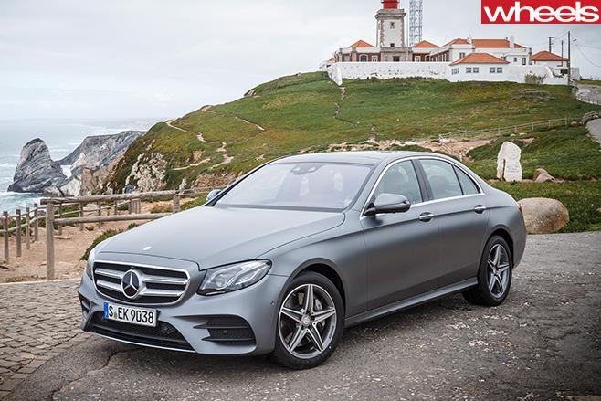 Mercedes -E-Class -front -side