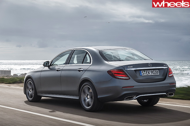 Mercedes -E-Class -rear -side