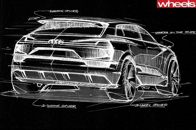 Audi -SUV-sketch