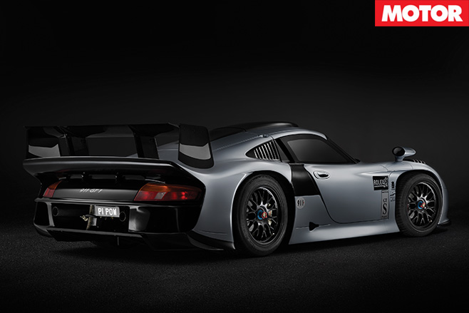 Porsche GT1 Evo road racer for sale rear