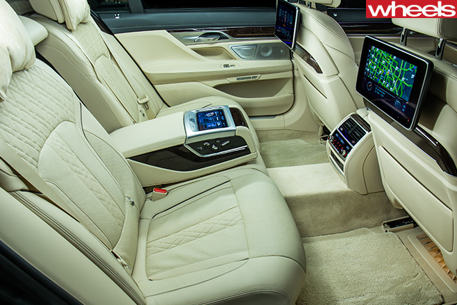 BMW-750i -driving -reat -seats