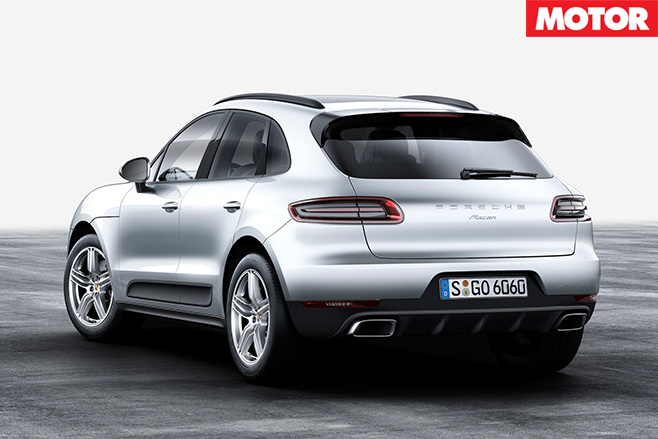 Porsche macan rear