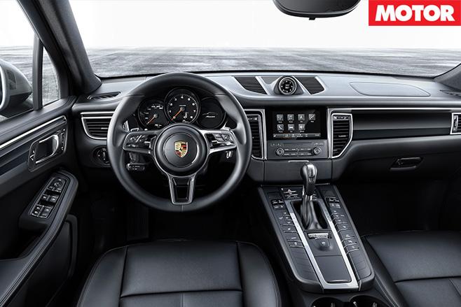 Four cylinder porsche macan interior