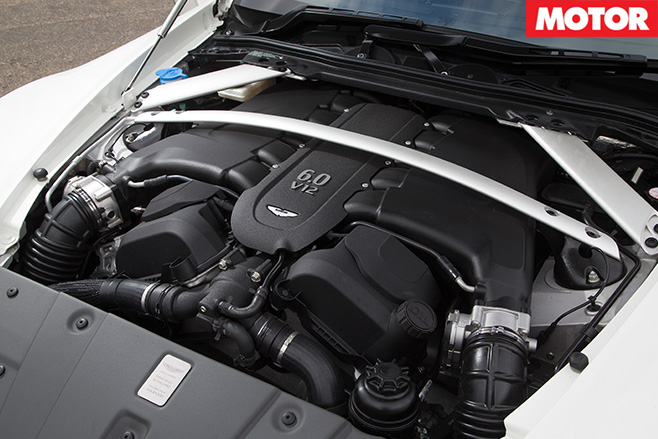 Aston Martin Vantage GT12 engine