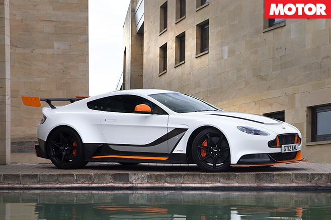 Aston Martin Vantage GT12 side