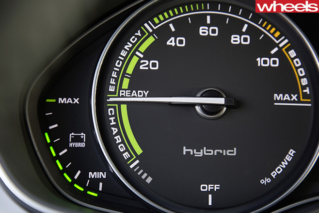 Audi -hybrid -gauge