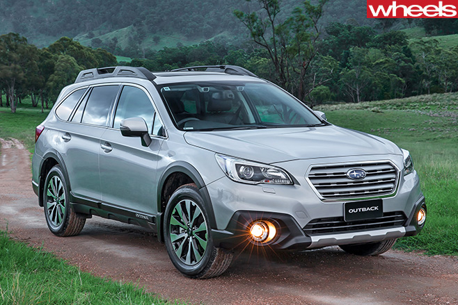 Subaru -Outback -front