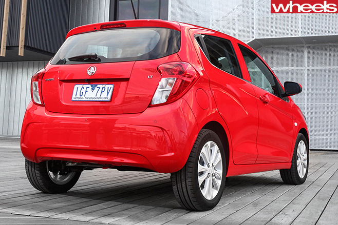 2016 Holden Barina Spark Review
