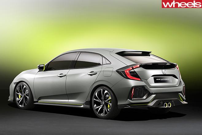 Honda -Civic -Side -Rear