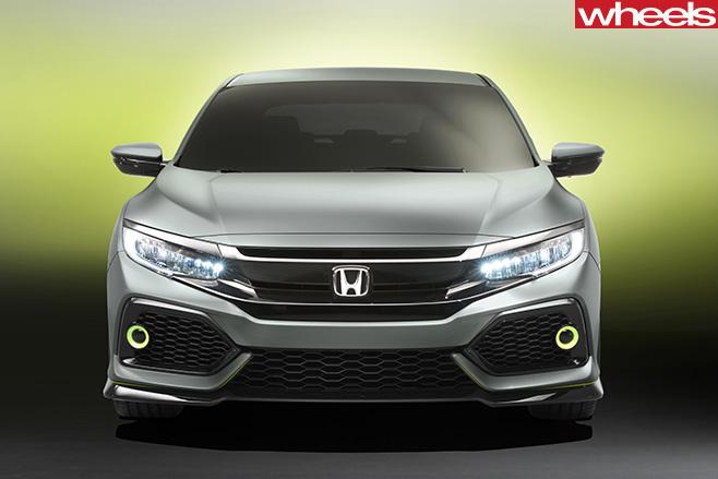 Honda -Civic -front