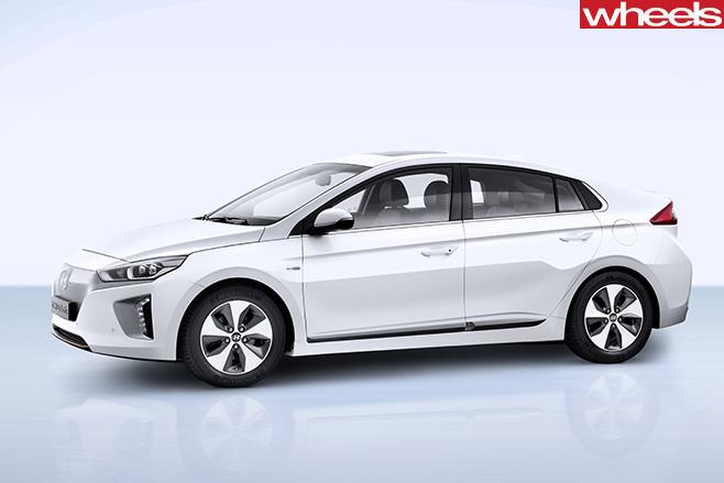 Honda -Ioniq -side