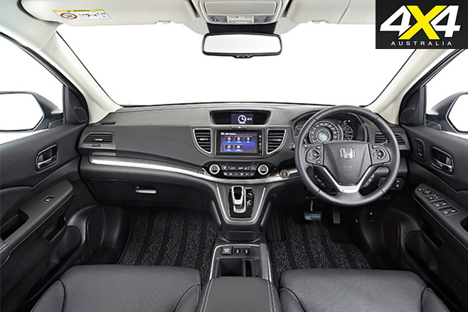Honda cr-v interior wide