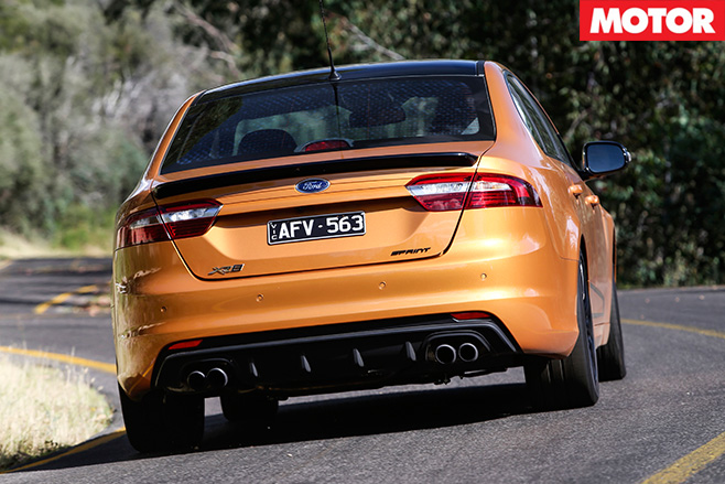 Ford Falcon XR8 Sprint rear