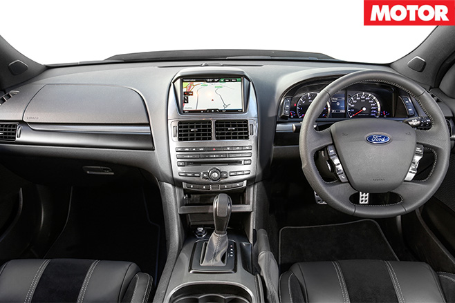 Ford Falcon XR6 Sprint interior