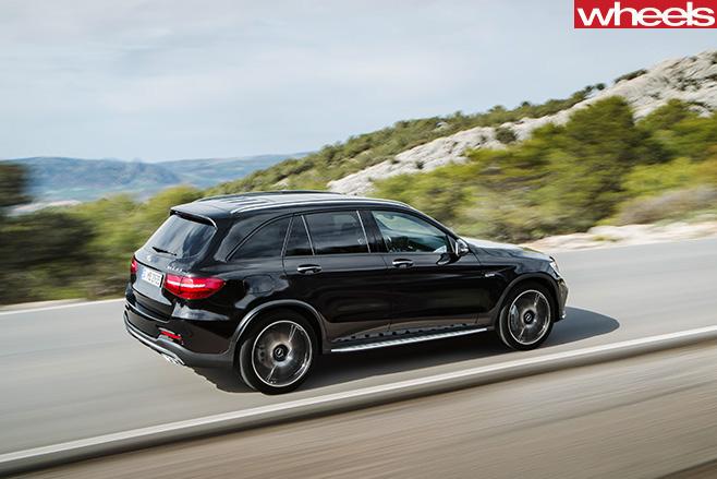 Mercedes -AMG-GLC-43-rear -driving