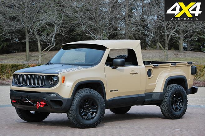 Jeep Comanche front