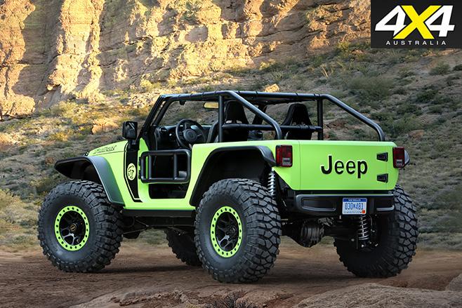 Jeep Trailcat rear