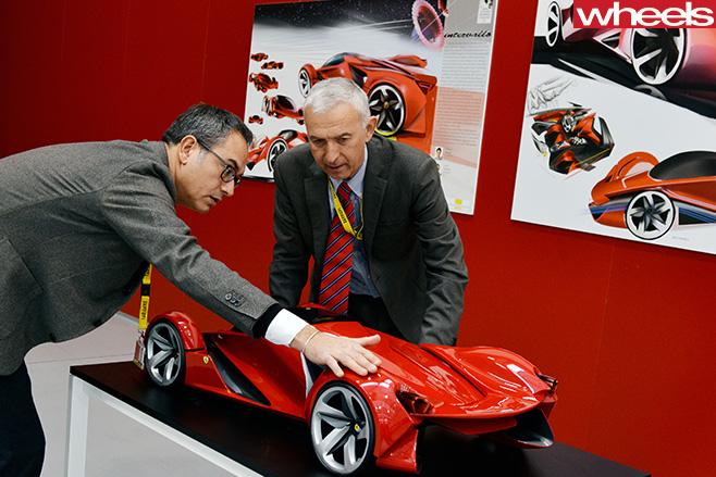 Ferrari -car -model