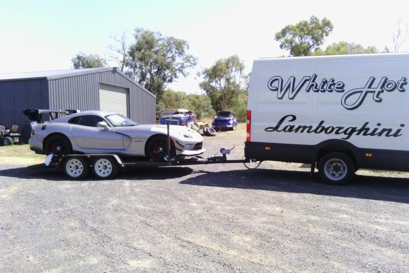 Dodge -Viper -ACR-arrival