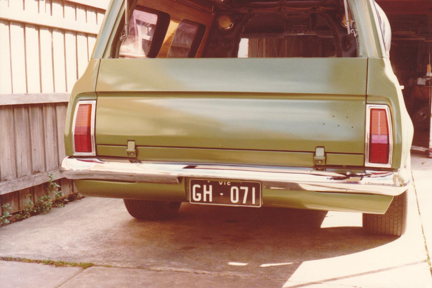 Green -Knight -HG-Panelvan -rear