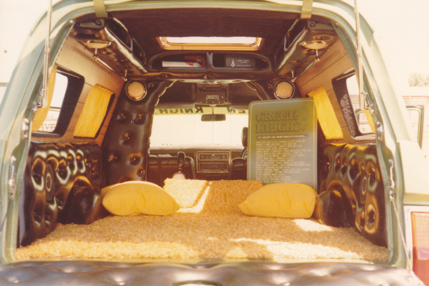 Green -Knight -HG-Panelvan -interior -rear