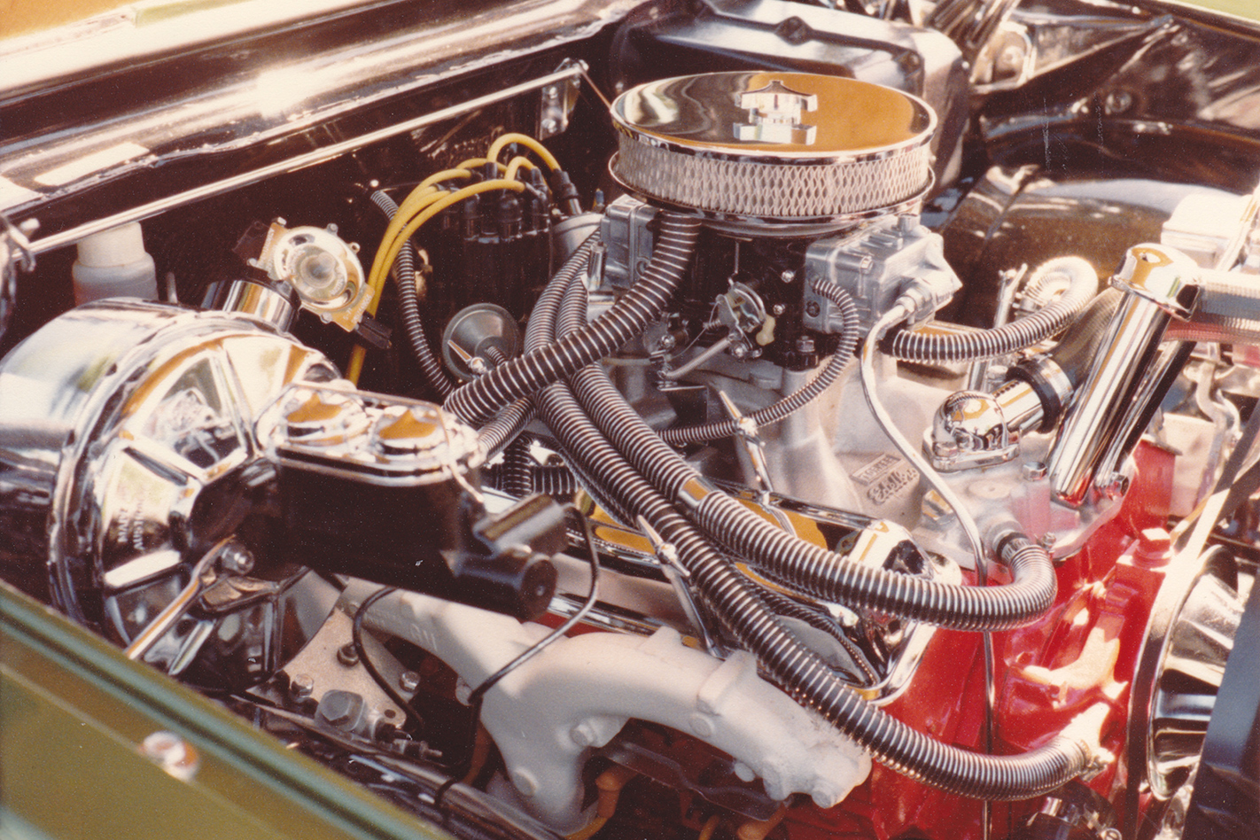 Green -Knight -HG-Panelvan -engine