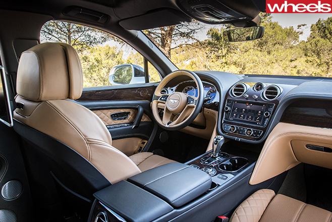 Bentley -Bentayga -interior