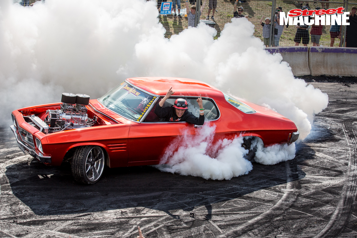 Holden HQ Monaro Burnout MRBADQ