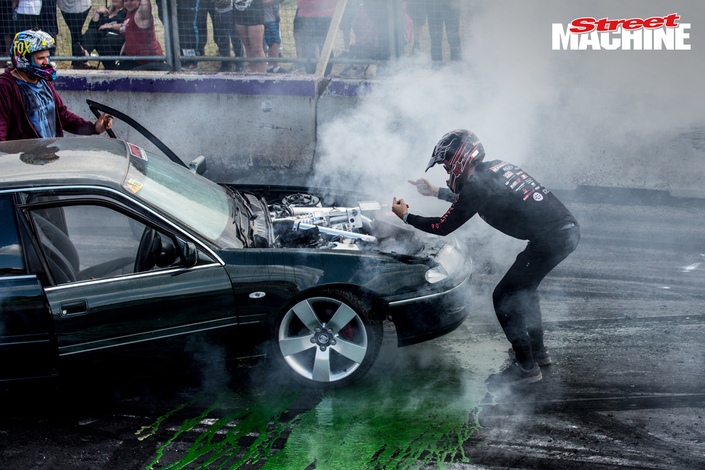 VS Commodore Supercharged V6 Burnout