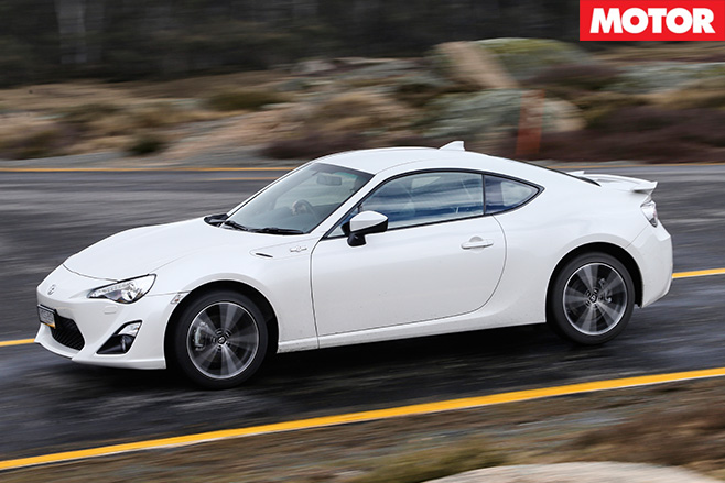 Toyota 86 gts driving side