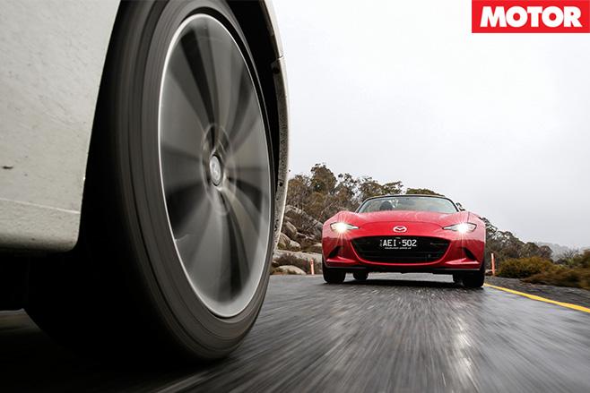 Mazda lagging behind