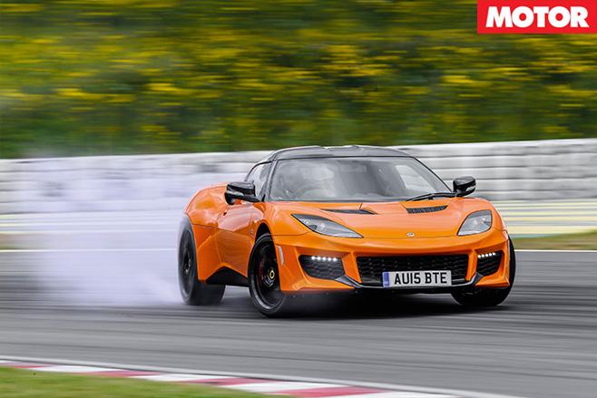 Lotus Evora 400 driving