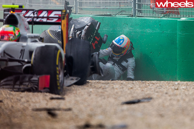 Alonso -crash