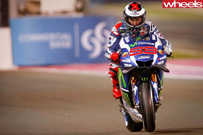 Moto GP-Qatar -Lorenzo -winner