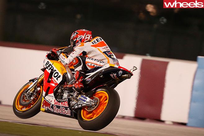 Moto GP-Qatar -Marquez