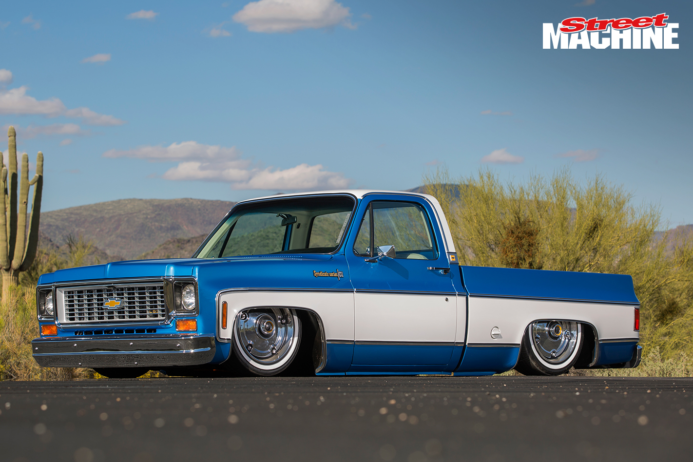 Slammed Chevrolet C10 Pick Up Custom