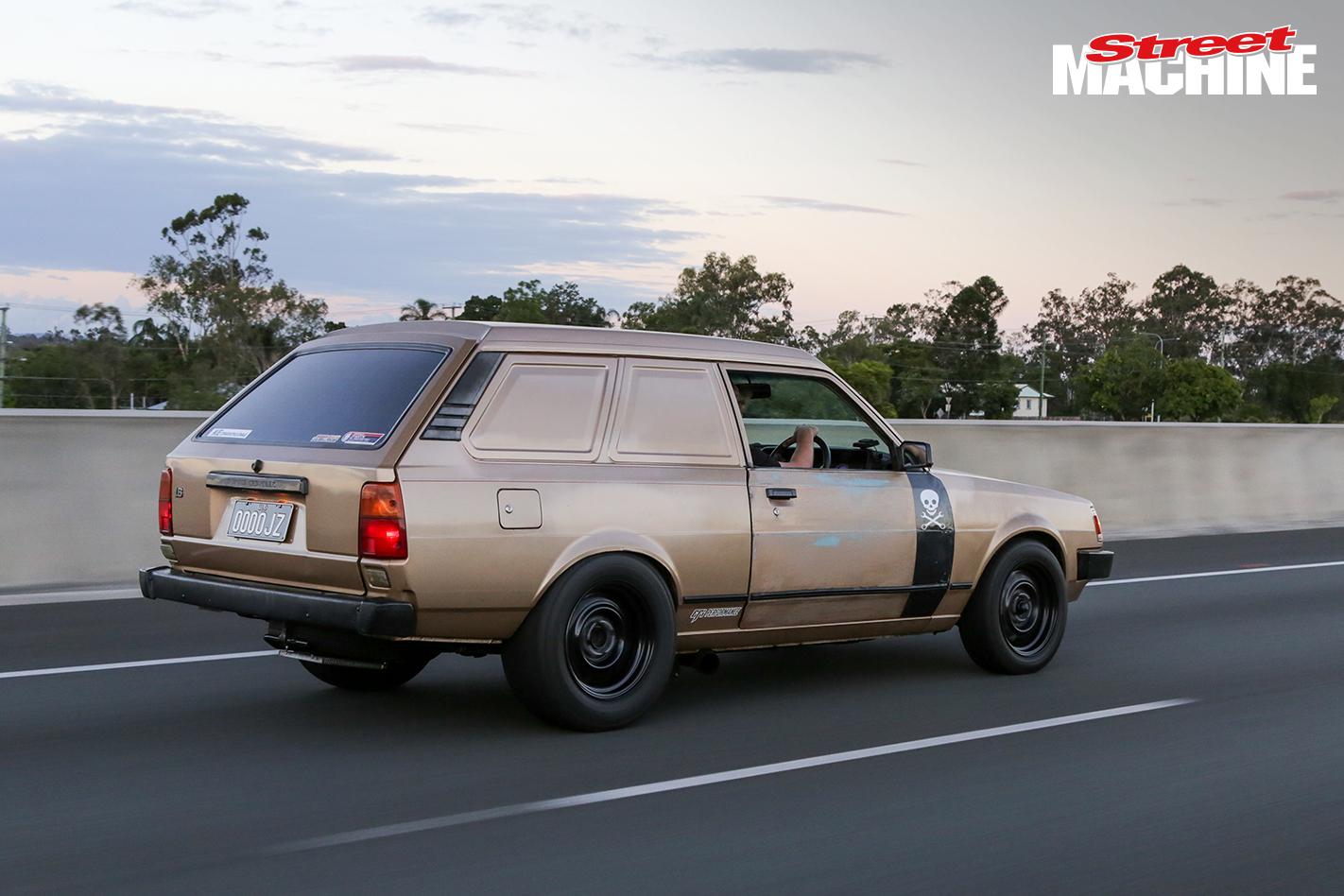1JZ Corolla Panel Van 2 Nw