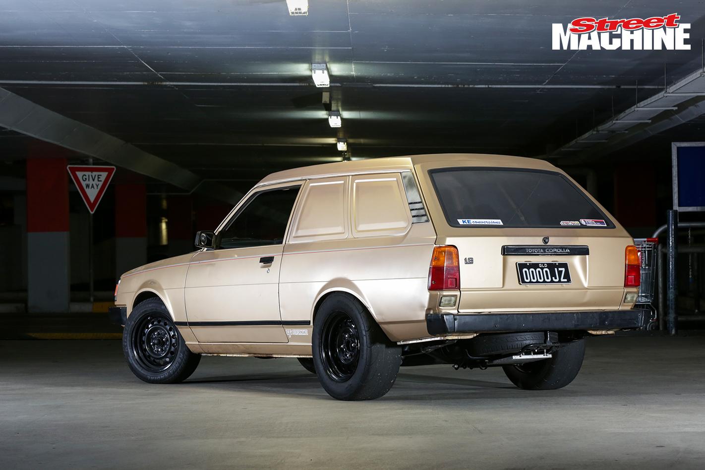 1JZ Corolla Panel Van 4 Nw